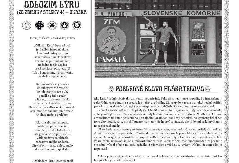 Žatevný denník 2019/4