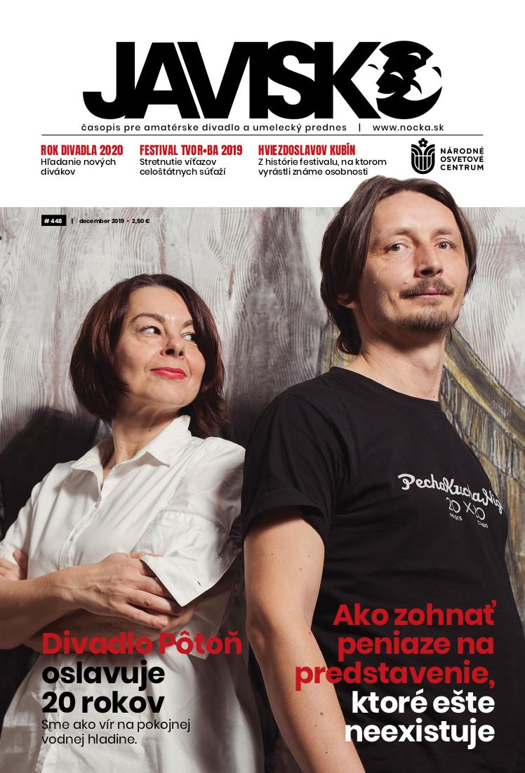 Vyšlo decembrové číslo časopisu Javisko